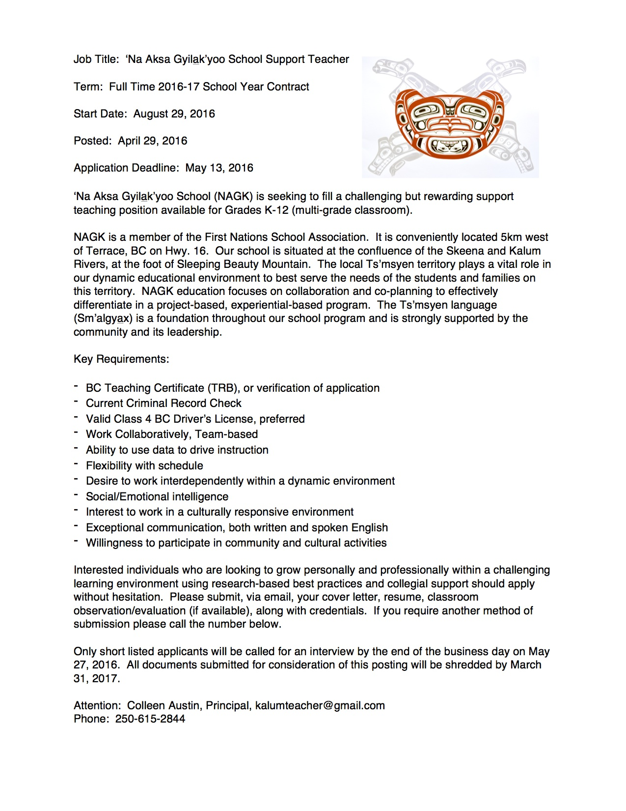 Teaching Job Application Cover Letter Image collections - Cover ...